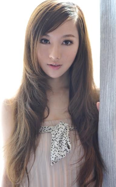 中国モデル・王婉珈がかわいい
